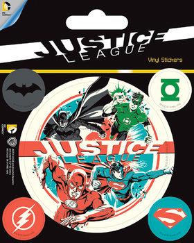 DC Comics - Justice League Vinyl klistermærker