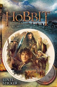 Hobbitten:Dragen Smaugs ødemark - Collage Vinyl klistermærker