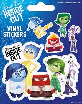Inderst inde Vinyl klistermærker