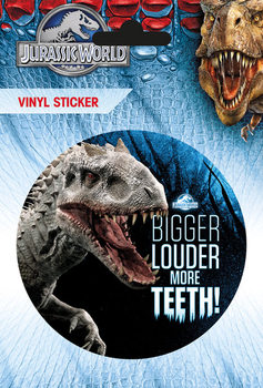 Jurassic World - More Theet Vinyl klistermærker