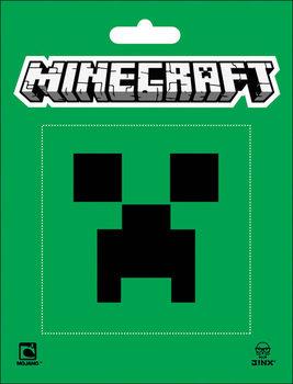 Minecraft - creeper Vinyl klistermærker