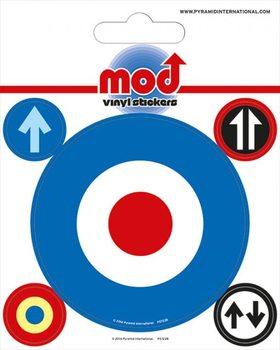 MOD - Target Vinyl klistermærker