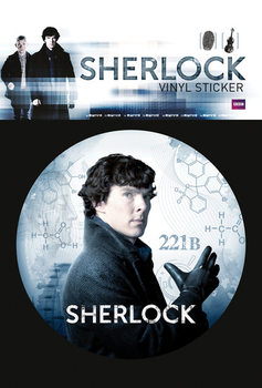 Sherlock - Mind Map Vinyl klistermærker