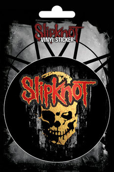 Slipknot - Skull Vinyl klistermærker