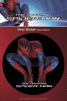 SPIDERMAN AMAZING - crouch. Vinyl klistermærker
