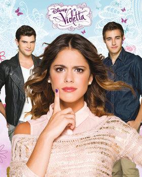 Violetta - Love - плакат (poster)