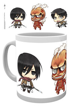 Attack on Titan - Chibi 2 Vrč