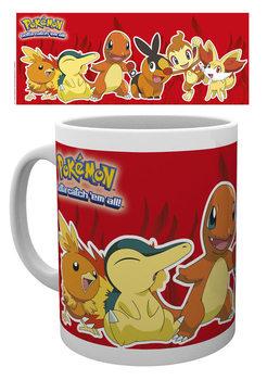 Pokémon - Fire Partners Vrč