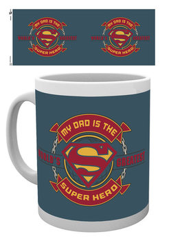 Superman - Dad Super Hero Vrč