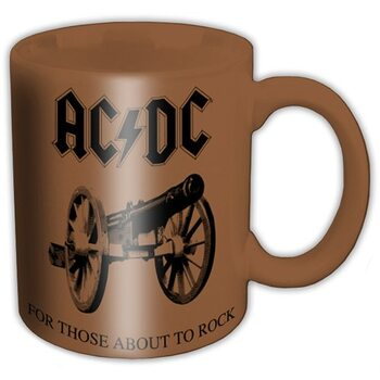 AC/DC - For Those About to Rock Skodelica