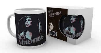 Amy Winehouse - Retro Badge Skodelica