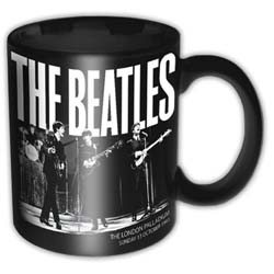 Beatles - Palladium 1963 Black Skodelica