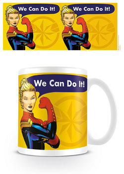 Captain Marvel - We Can Do It Skodelica
