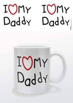 Deň otcov - I heart My Daddy Vrč