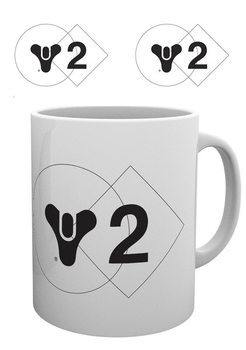 Destiny 2 - 2 Logo Vrč