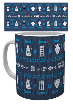 Doctor Who - Ugly Sweater Skodelica