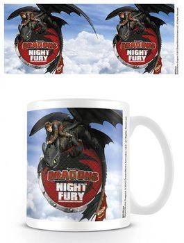 Dragons - Night Fury Vrč