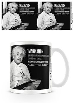 Einstein - Imagination Skodelica