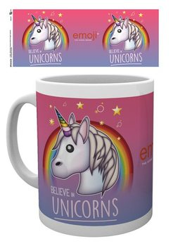 Emoji - Believe in Unicorns Skodelica