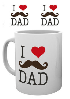 Father's Day - I Love Dad Skodelica
