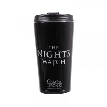 Potovalni vrček Game Of Thrones - Nights Watch