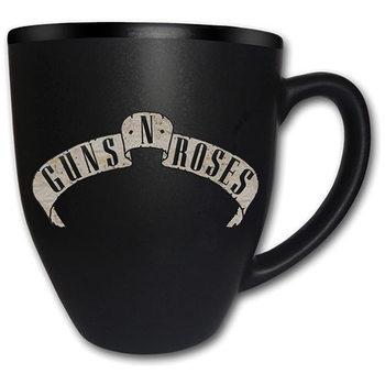Guns N Roses – Logo Matt Engraved Skodelica