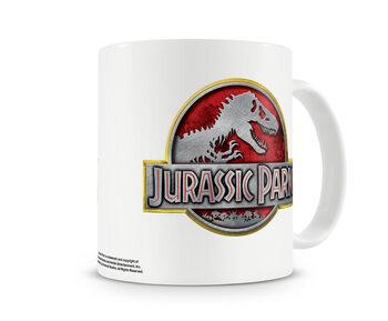 Skodelica Jurassic Park - Metallic Logo