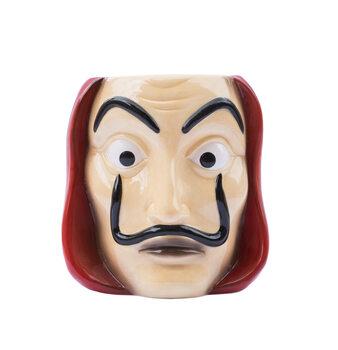 Skodelica Money Heist (La Casa De Papel) - Mask
