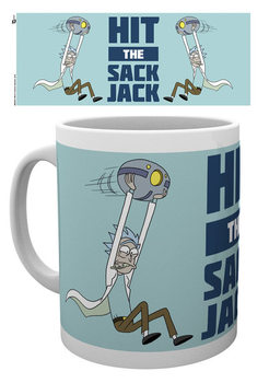 Rick And Morty - Hit The Sack Jack Skodelica