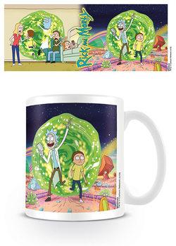 Rick & Morty - Portal Skodelica