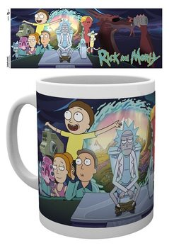 Rick & Morty - Season 4 Part One Skodelica