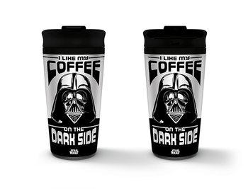 Star Wars - I Like My Coffee On The Dark Side Skodelica