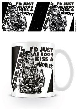 Star Wars - Kiss a Wookie Skodelica