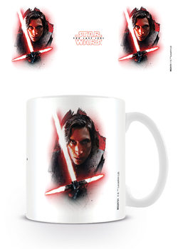 Star Wars The Last Jedi - Kylo Ren Brushstroke Skodelica