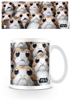 Star Wars The Last Jedi - Many Porgs Skodelica
