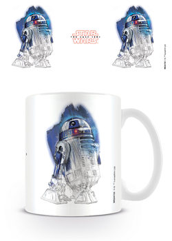 Star Wars The Last Jedi - R2-D2 Brushstroke Skodelica