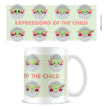 Skodelica Star Wars: The Mandalorian - Expressions Of The Child