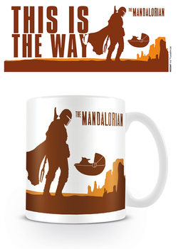 Star Wars: The Mandalorian - This is the Way Skodelica