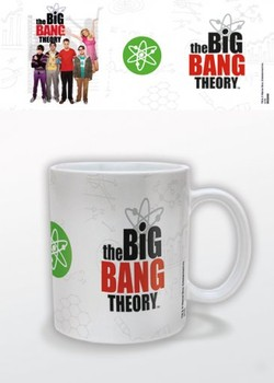 The Big Bang Theory - Logo Skodelica