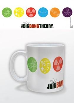 The Big Bang Theory - Symbols Skodelica