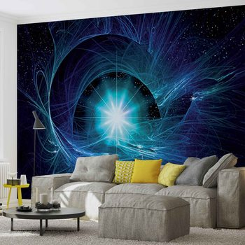 Etoile Cosmos Abstrait Poster Mural