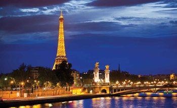 La tour Eiffel Poster Mural