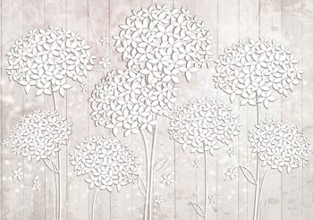 Motif Floral Poster Mural