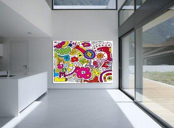 Peace Love Poster Mural