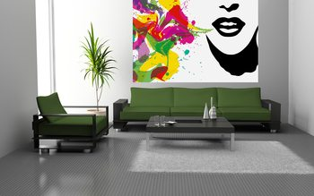 Talking Colours Poster Mural