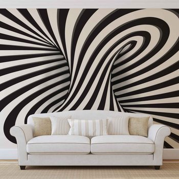 Tourbillon Abstrait Poster Mural
