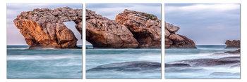Wandbilder Cliffs in the ocean