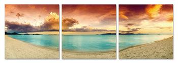Wandbilder Colorful Beach