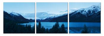 Wandbilder Early morning on the lake