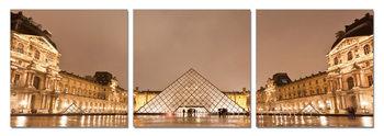 Wandbilder Paris - Le Louvre